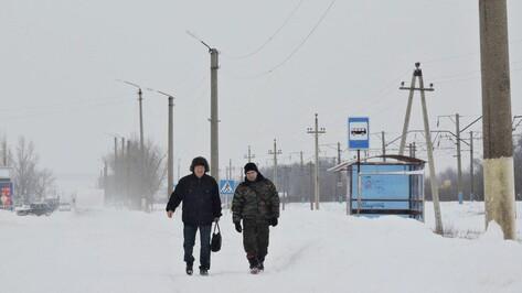 В Воронежской области из-за сильного снегопада отменили рейсовые и междугородние автобусы
