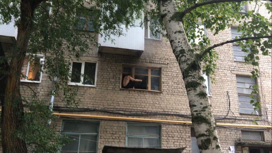 В Воронеже мужчина поджег собственную квартиру