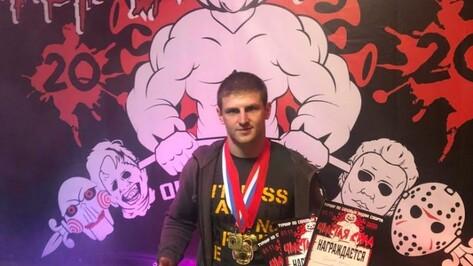 Хохольский спортсмен завоевал 3 «золота» на чемпионате по пауэрлифтингу