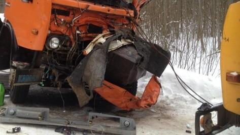 В Воронежской области в ДТП с тремя «КАМАЗами» погиб пенсионер