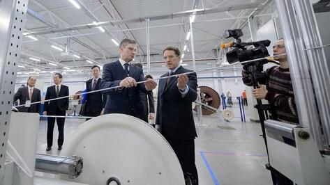 Воронежский завод увеличил объем экспорта оптоволоконного кабеля до 42%
