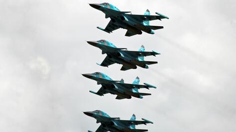 Четырьмя бомбардировщиками Су-34 пополнится Воронежская авиабаза