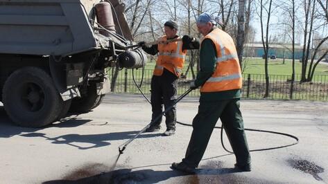 В Таловой  приступили к ямочному ремонту дорог