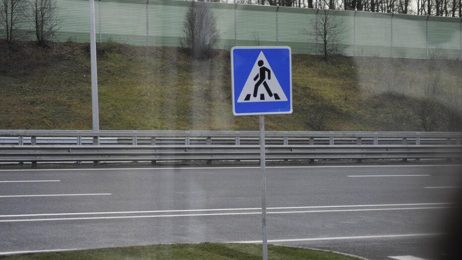 После ДТП на пешеходном переходе в Воронеже в больницу увезли 13-летнюю девочку