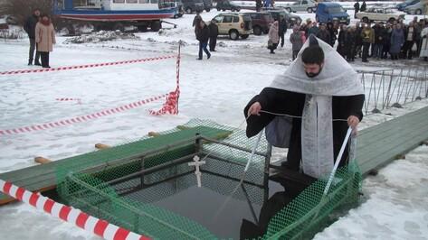 В Павловске на реке Дон освятили воду