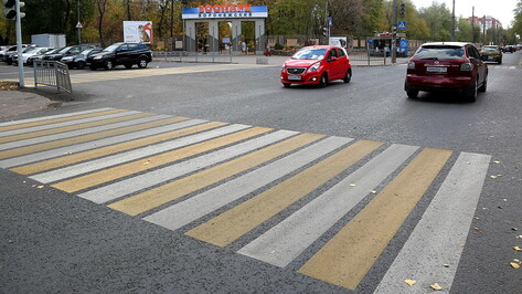 На обновление дорожной разметки в Воронеже потратят до 140 млн рублей