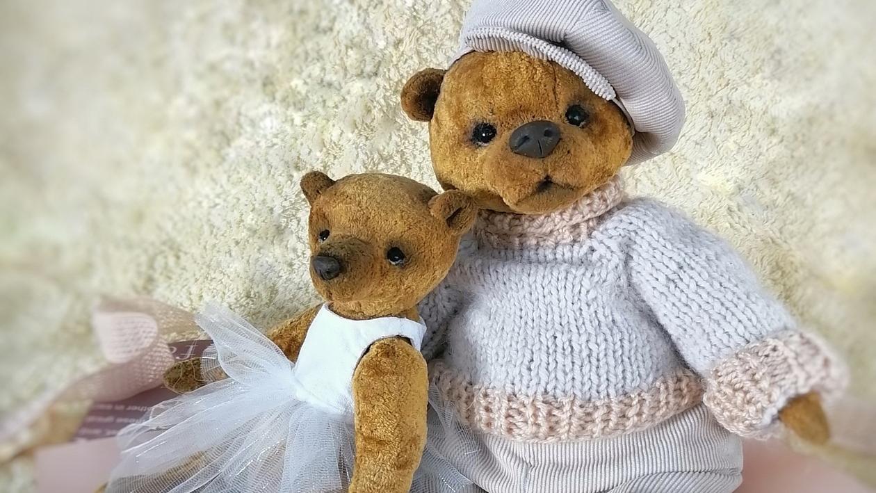 «Тепло твоих рук». Зачем молодая мама из Воронежской области создает мишек Тедди
