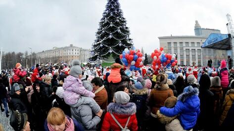 Движение транспорта в центре Воронежа изменится в новогодние праздники