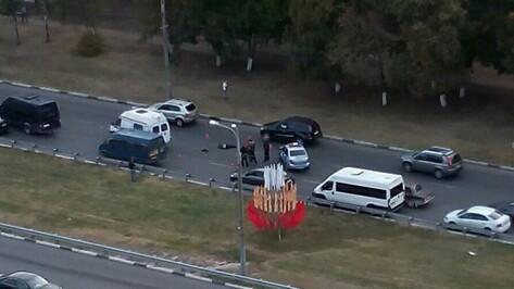 В воронежской аварии на Московском проспекте погиб 75-летний пешеход
