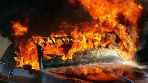 Воронежец сжег машину бывшей сожительницы