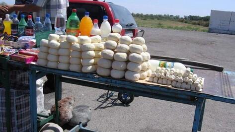 В центре Воронежа поймали нелегальных уличных торговцев