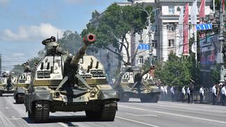 Репетицию парада Победы в центре Воронежа проведут ночью в выходные