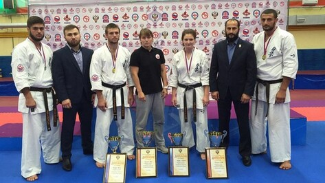 Поворинец Иван Мезенцев стал чемпионом России по карате