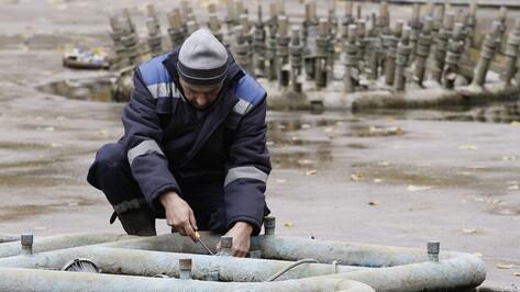 В Воронеже досрочно демонтировали зимний фонтан в Кольцовском сквере