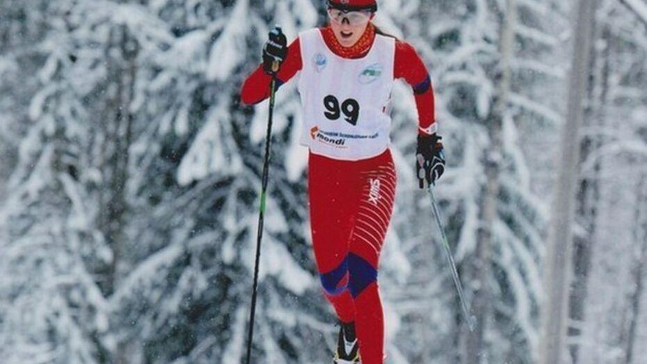 Лыжница из Борисоглебска вошла в десятку лучших в России