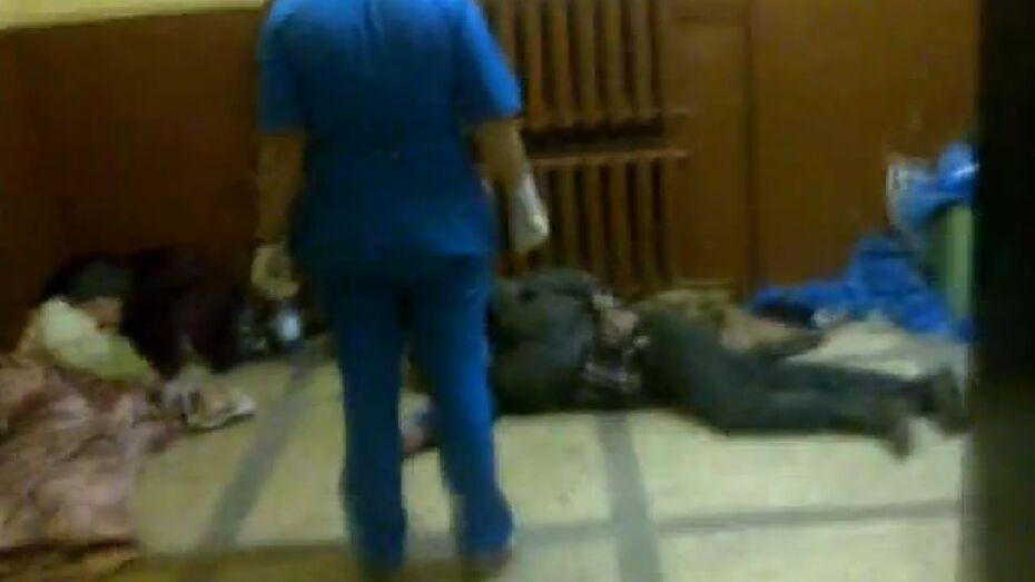 В Воронеже на пороге БСМП скончался мужчина