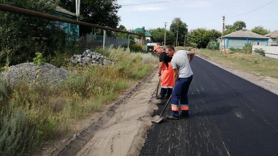 Дороги местного значения отремонтируют в 19 селах Павловского района