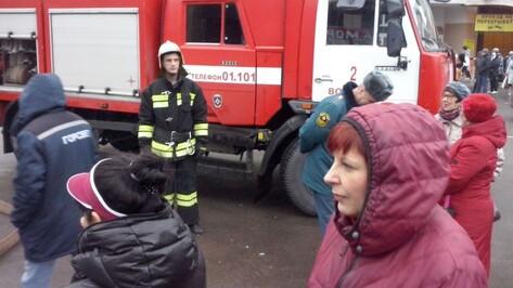Неизвестный сообщил о заминировании Центрального рынка Воронежа