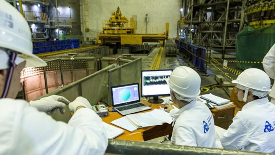 Шестой энергоблок Нововоронежской АЭС загрузили ядерным топливом
