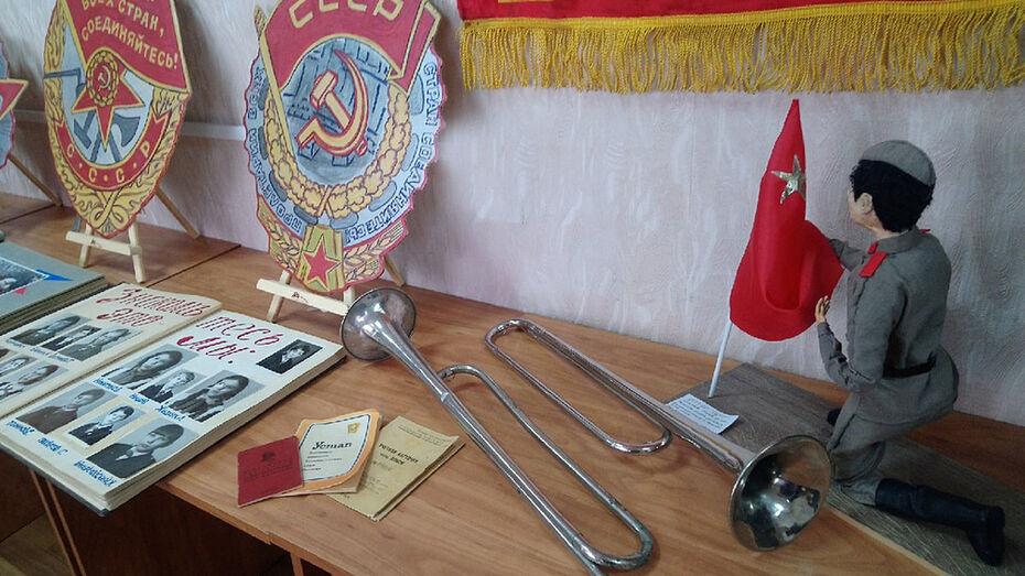 Музей советской молодежи открылся в Лисках