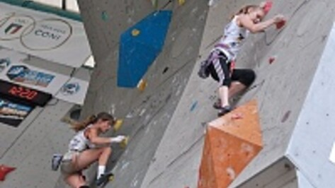 Воронежская скалолазка Евгения Маламид выиграла серебро в Италии