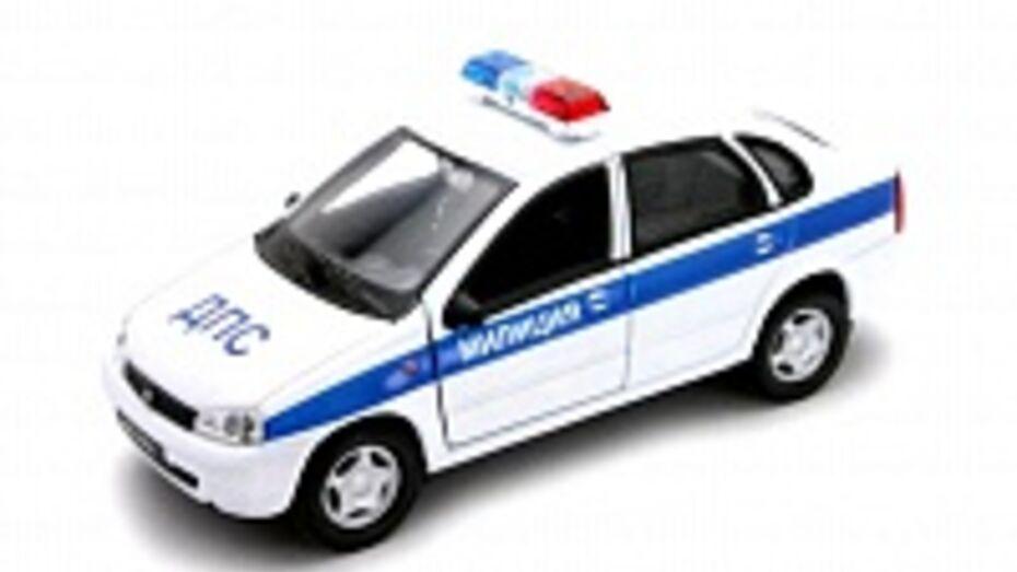 В Воронежской области в ДТП с участием полицейских пострадали три человека