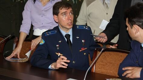 Командир российских космонавтов рассказал воронежцам, как отмечают праздники на орбите