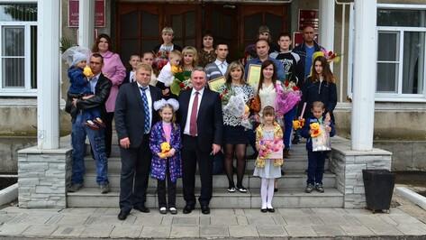 В Грибановке 8 семей получили свидетельства на приобретение жилья