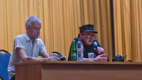 Михаил Шемякин в Воронеже: «Шедевры рождаются, когда вы много работаете»