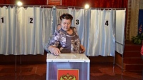 В Верхнемамонском районе за Алексея Гордеева на выборах губернатора проголосовали 91,8% избирателей