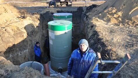 В Павловске началось строительство новой канализационно-насосной станции