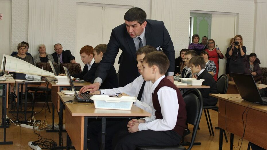 В Таловском районе выбрали лучшего учителя года