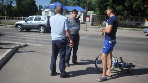 В Воронежской области в ДТП пострадал 11-летний велосипедист