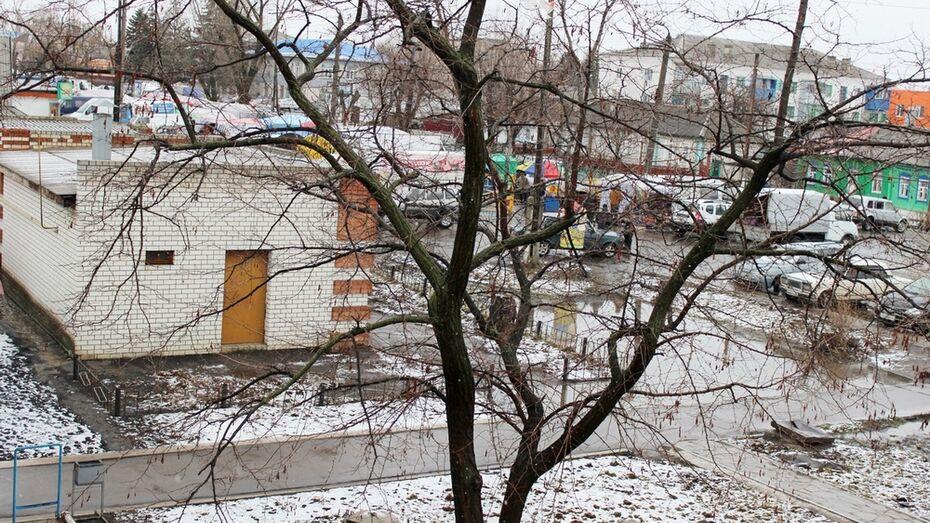 Три дня подряд Таловский район заливал дождь и засыпал снег