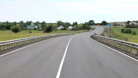 Воронежские дорожники отремонтировали два участка трассы Р298