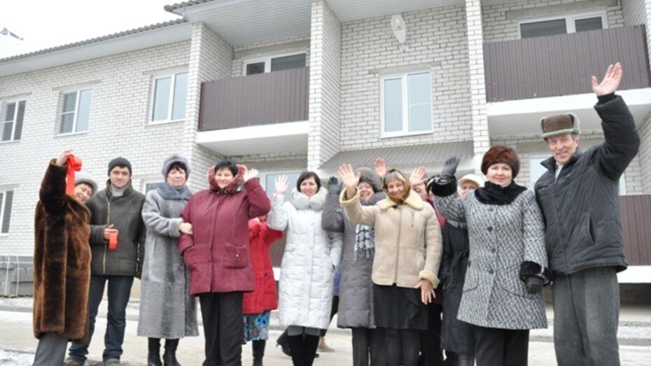 16 павловских семей переехали в новый дом из аварийного жилья
