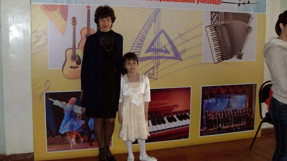 Верхнемамонская пианистка стала лауреатом межрегионального конкурса