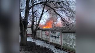 Снова загорелись военные склады в Воронеже