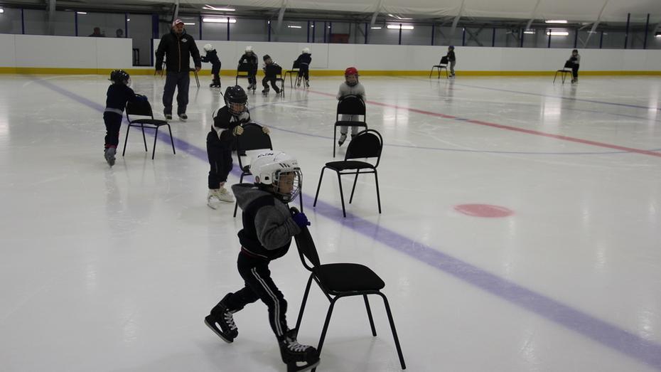 В Бобровском районе воспитанников 2 детсадов научат фигурному катанию и игре в хоккей