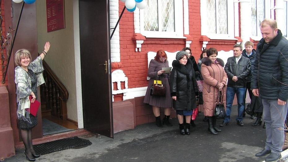 В Бутурлиновке после капитального ремонта открылся краеведческий музей