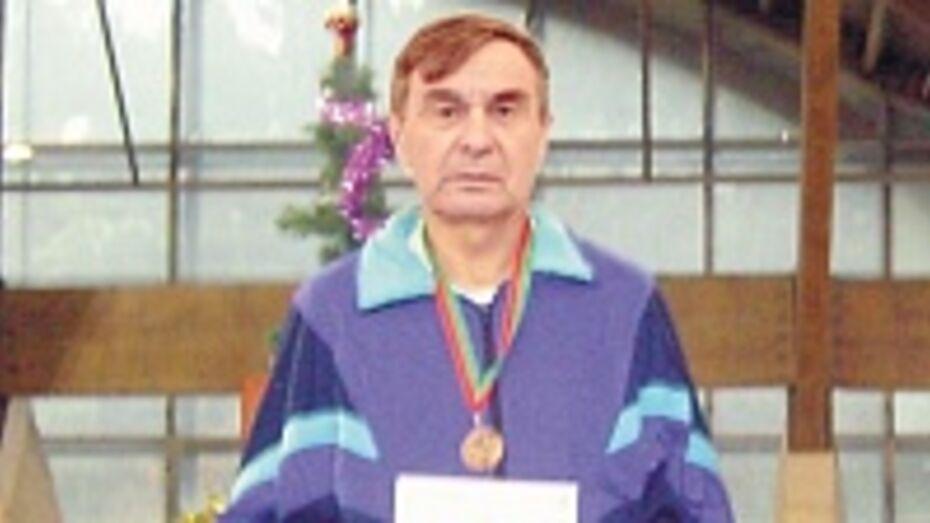 Аннинец стал чемпионом Москвы по легкой атлетике среди ветеранов