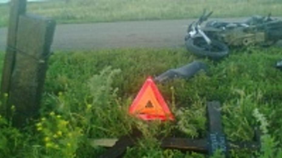 В Поворинском районе сотрудники ГИБДД провели операцию «Опасный мопед»