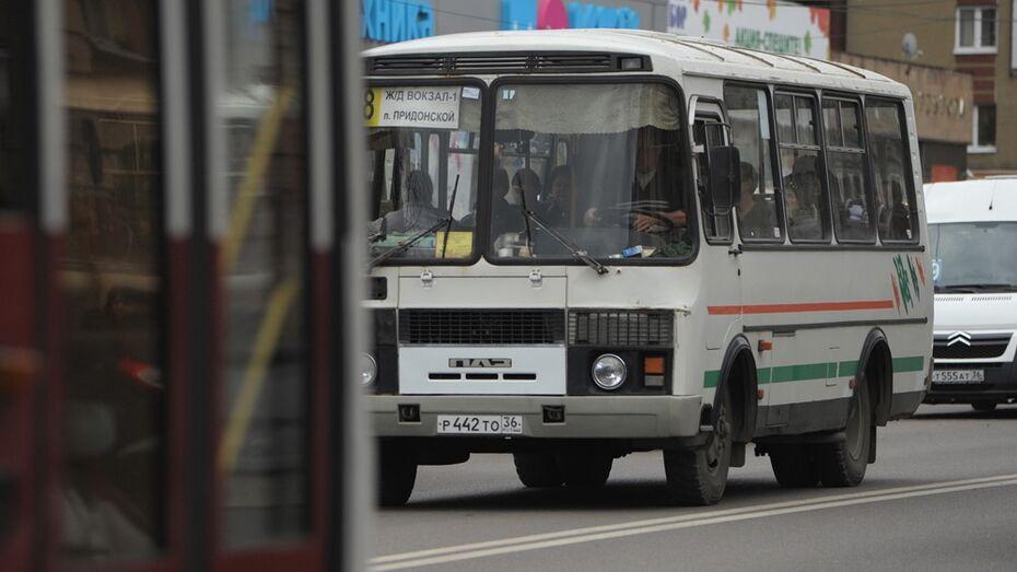В Воронеже водитель маршрутки избил пассажира