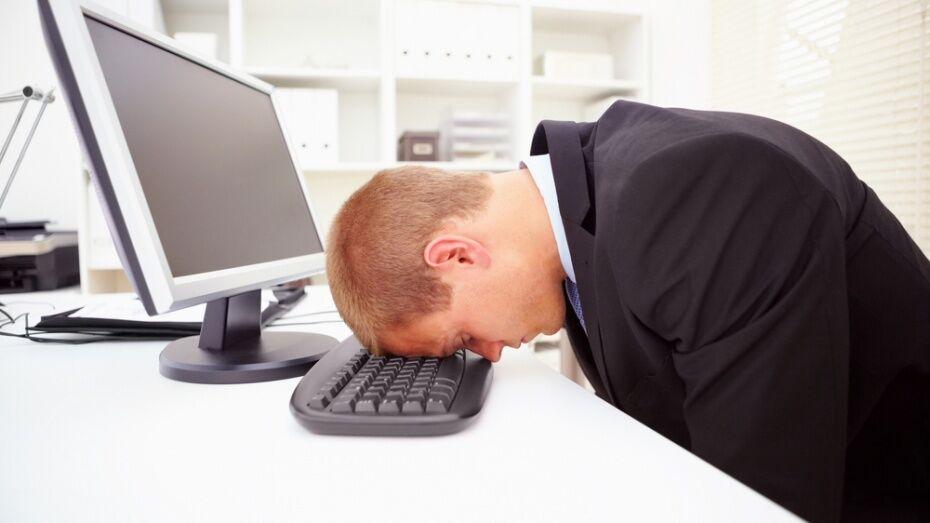 Воронежская область вошла в десятку регионов с наивысшим уровнем стресса работников