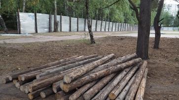 В воронежском парке «Танаис» снесли 12 незаконных киосков