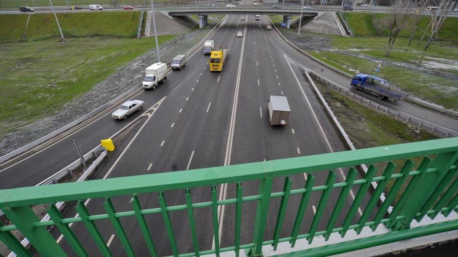 Капремонт участка трассы М-4 «Дон» на подъезде к Воронежу завершат в 2018 году