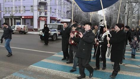 Воронежские евреи отметили начало света
