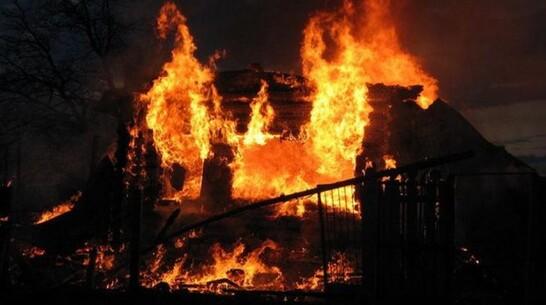В Воронежской области при пожаре в частном доме погиб 60-летний мужчина