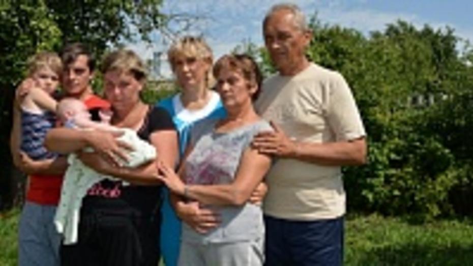 В Нижнедевицкий район приехали  пять семей временных переселенцев с Юго-Востока Украины