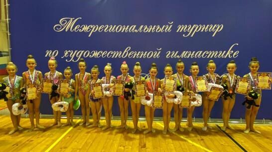 Борисоглебские гимнастки завоевали 16 золотых медалей межрегионального турнира